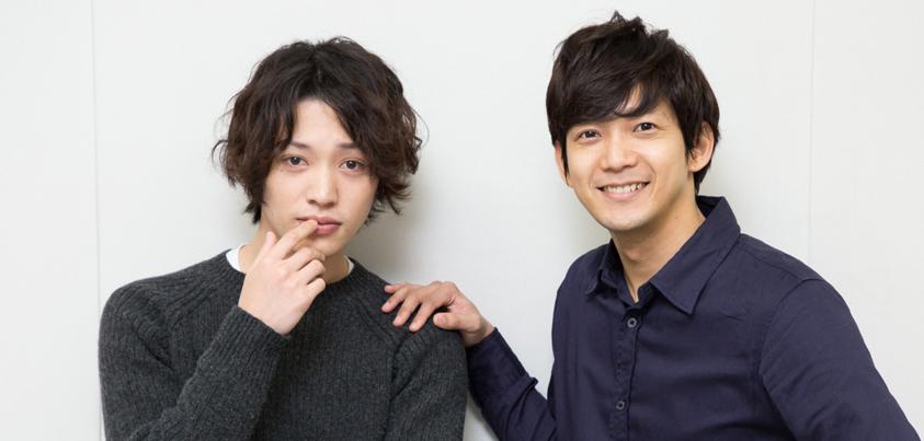 安西慎太郎さん(左)と辻󠄀本祐樹さん=撮影・岩村美佳