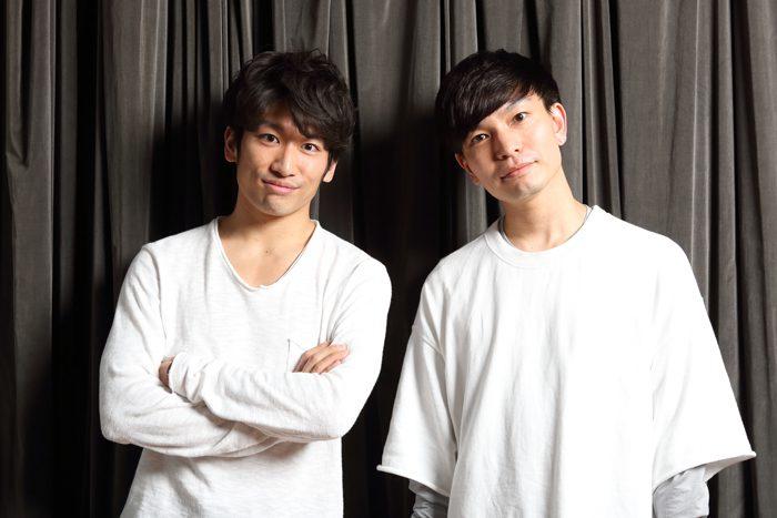 一色洋平さん(左)と小沢道成さん=撮影・伊藤華織