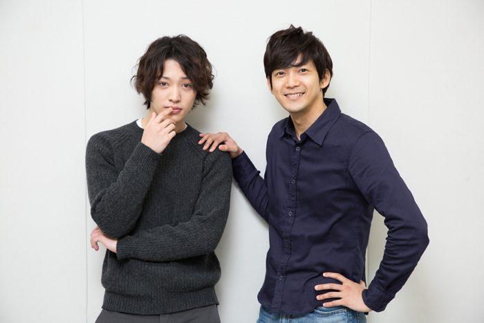 安西慎太郎さん(左)と辻本祐樹さん=撮影・岩村美佳