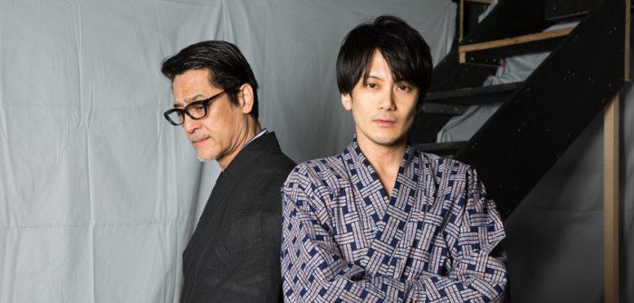橋本さとしさんと小西遼生さん=撮影・岩村美佳