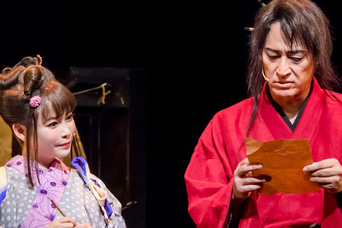 Japanese Musical『戯伝写楽 2018』より=撮影:桜井隆幸