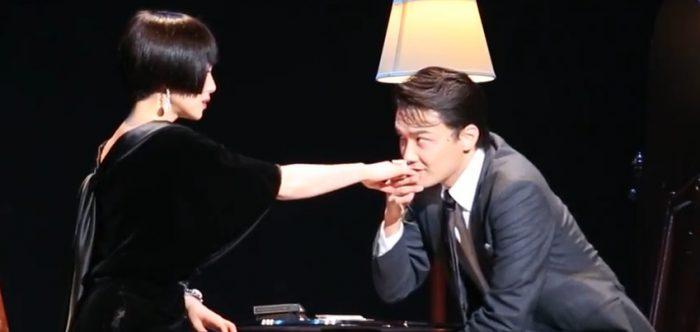 舞台『黒蜥蜴』ゲネプロより=撮影・岩村美佳