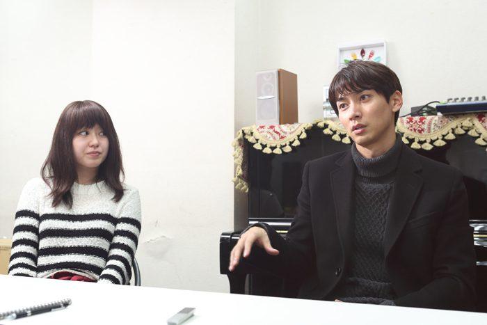 石井一彰さんと片島亜希子さん=撮影・伊藤華織