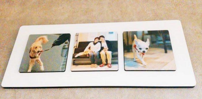 ひとみさんと淳子さんの家に飾ってある写真=撮影・松中みどり