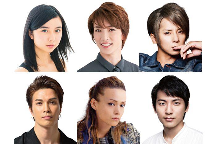 浪漫活劇『るろうに剣心』第一弾出演者=写真提供・梅田芸術劇場