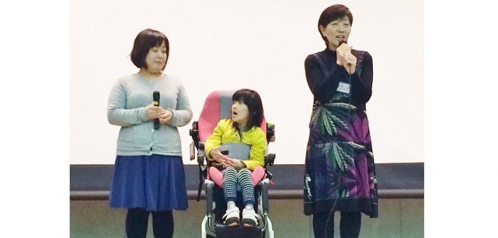 左から木津美沙さん、木津陽葵さん、牧野順子さん=撮影・橋本正人