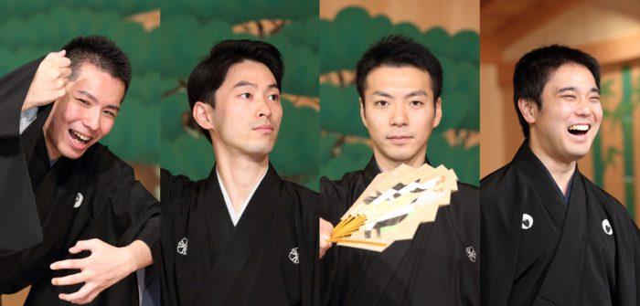 (左から)岡聡史さん、中村修一さん、内藤連さん、飯田豪さん=撮影・伊藤華織