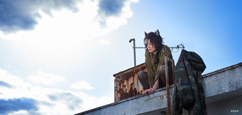 2人芝居『いなくなった猫の話』キービジュアル=写真提供・Zu々