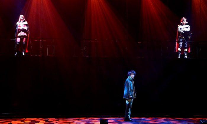 舞台『銀河鉄道999』~GALAXY OPERA~より=撮影・岩村美佳