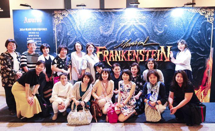 2018年7月の「解説付きミュージカルツアー vol.5」より=写真提供・田代親世さん
