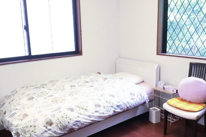 アイデアニュースカルチャーセンターの講師用宿泊室