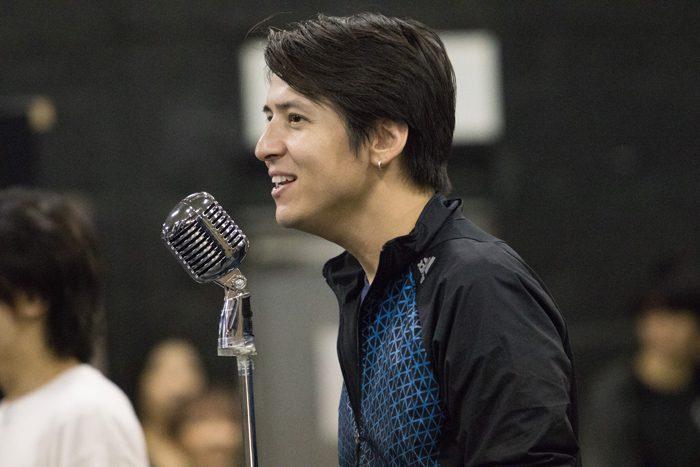 ミュージカル『ジャージー・ボーイズ』稽古場より=撮影・岩村美佳