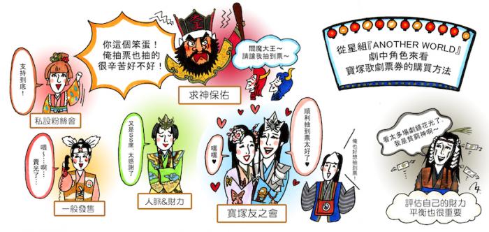 星組『ANOTHER WORLD』のキャストで見る宝塚歌劇チケットの取り方