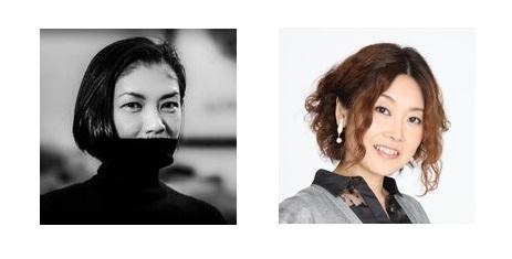 (左から)前田文子さんと岩村美佳さん