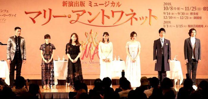 ミュージカル『マリー・アントワネット』製作発表より=撮影・岩村美佳