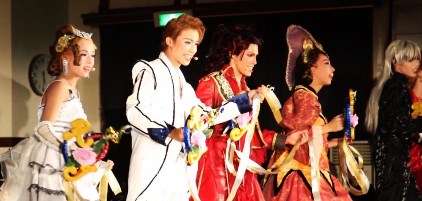 カヅラカタ歌劇団『ロミオとジュリエット』公演より=撮影・橋本正人