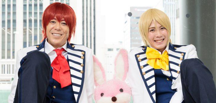 神生アキラさん(左)と榊原タツキさん=撮影・山本尚侍