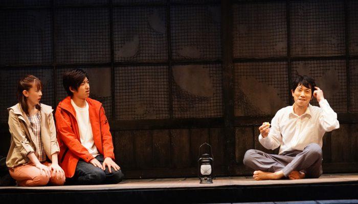 (左から)水上京香さん、水田航生さん、佐々木蔵之介さん=撮影:田中亜紀