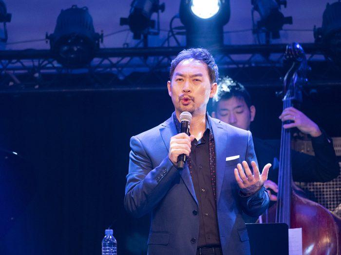 福井晶一『Voce』発売記念コンサート大阪公演より=(C)Hideaki Okamatsu