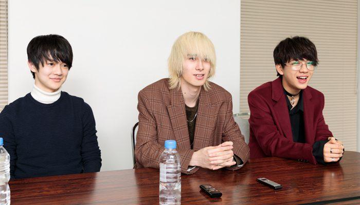 ジャンさん(中央)、壮吾さん(左)、洸希さん(右)=撮影・山本尚侍