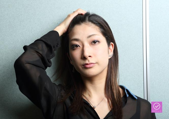 花瑛ちほさん、アイデアニュース・プレゼント用写真=撮影・伊藤華織