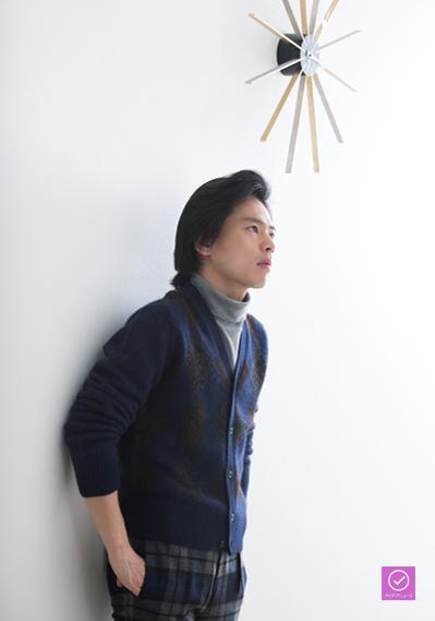 中川晃教さん、アイデアニュース・プレゼント用写真=撮影・岩村美佳