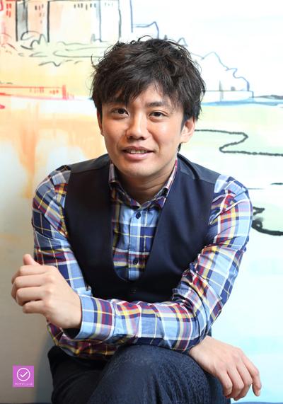 藤岡正明さん、アイデアニュース・プレゼント用写真=撮影・伊藤華織