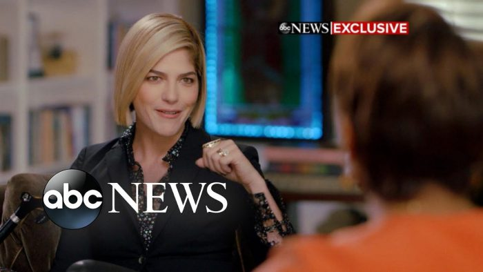 YouTubeの「Actress Selma Blair opens up about 'tears' and 'relief' of MS diagnosis 」=GMA Good morning America チャンネルより