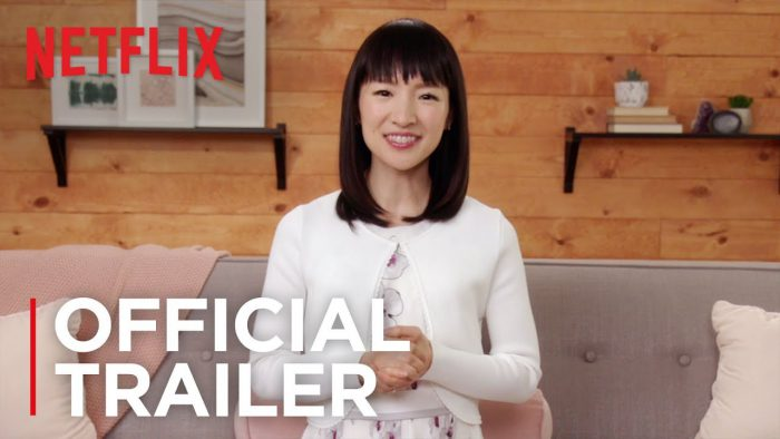 YouTubeの「Tidying Up with Marie Kondo | Official Trailer」=Netflixチャンネルより