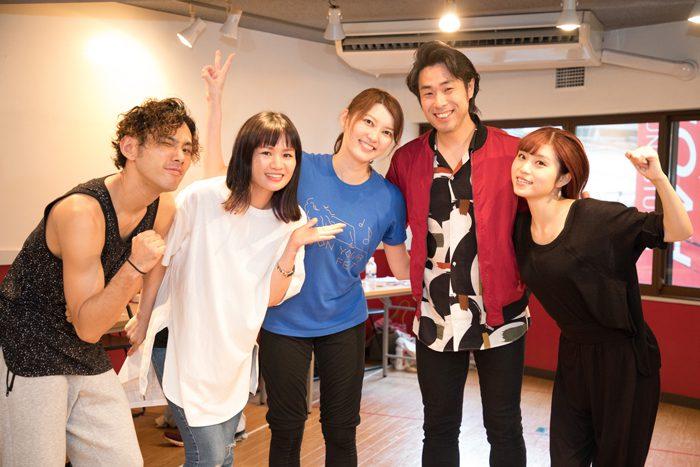 『MANA-HOLIC ~Asaka Manato Concert 2nd~』稽古場より=撮影・岩村美佳