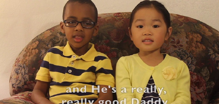 YouTubeの「Fatherless to Fatherfull (Happy Father's Day!)」=LeLiLu Videosチャンネルより