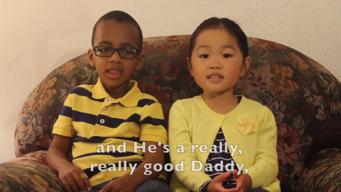 YouTubeの「Fatherless to Fatherfull (Happy Father's Day!)」= LeLiLu Videosチャンネルより