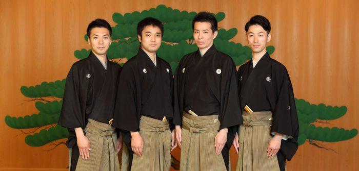 (写真左から)内藤連さん、飯田豪さん、岡聡史さん、中村修一さん=撮影・伊藤華織