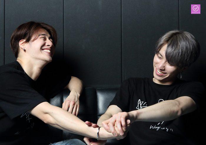 「JOONHO&GYUMIN」アイデアニュース・プレゼント用写真=撮影・伊藤華織