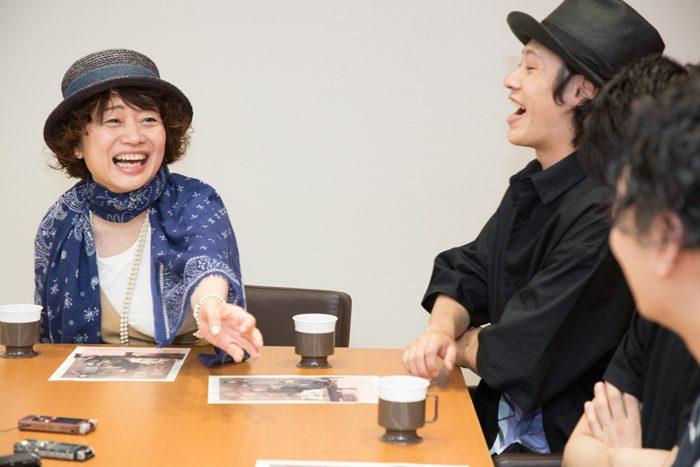 『絢爛とか爛漫とか』合同取材より=撮影・岩村美佳