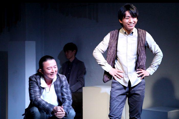 『お月さまへようこそ』公演より「喜びの孤独な衝動」=撮影・岩村美佳