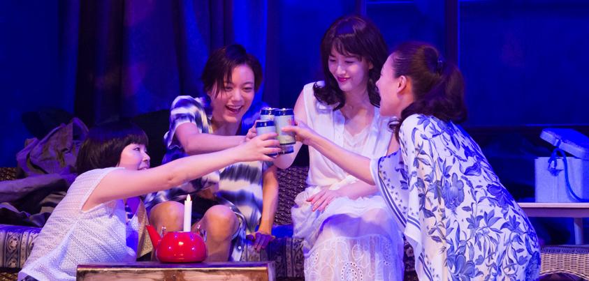 『フローズン・ビーチ』プレビュー公演より=撮影:桜井隆幸
