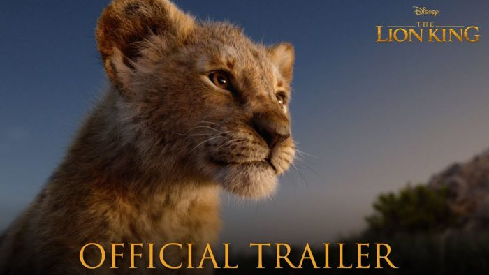YouTubeの「The Lion King Official Trailer」=Walt Disney Studios チャンネルより