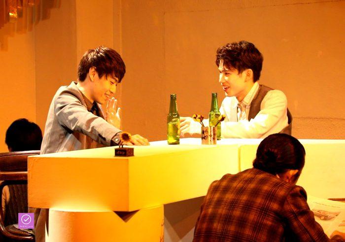 『お月さまへようこそ』公演より、アイデアニュース・プレゼント用写真=撮影・岩村美佳