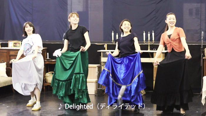 ミュージカル『Little Women -若草物語-』稽古より=撮影・岩村美佳