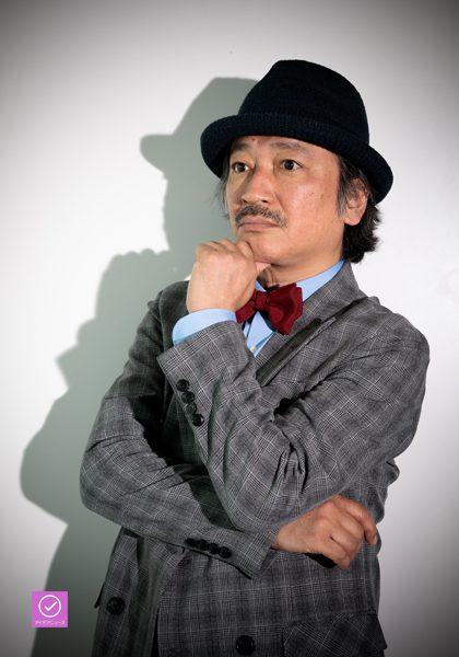 駒田一さん、アイデアニュース・プレゼント用写真=撮影・山本尚侍