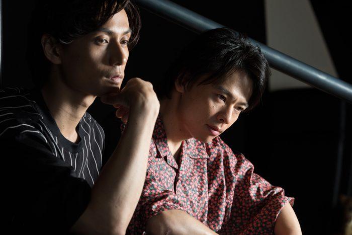 中川晃教さん(右)と加藤和樹さん=撮影・岩村美佳