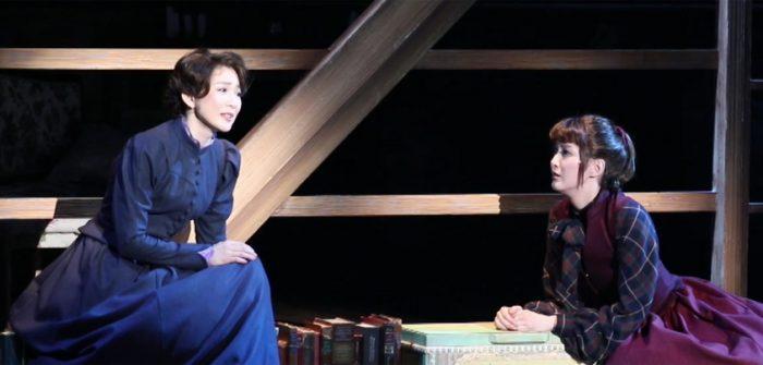 ミュージカル『Little Women -若草物語-』ゲネプロより=撮影・岩村美佳