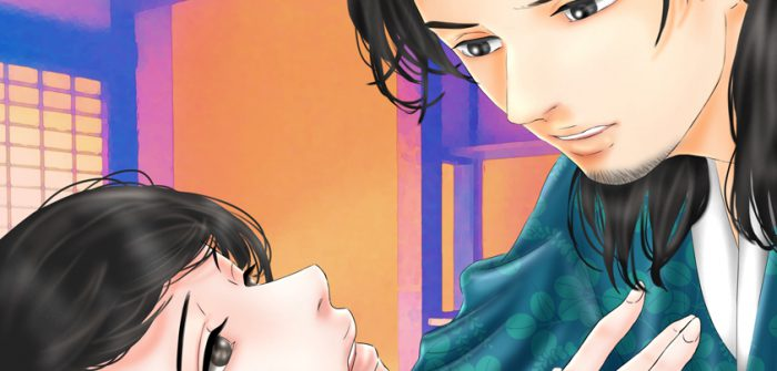 『龍起伝 ~楠木正成と久子~』に登場する楠木正季(右)と久子(左)=画・anji56