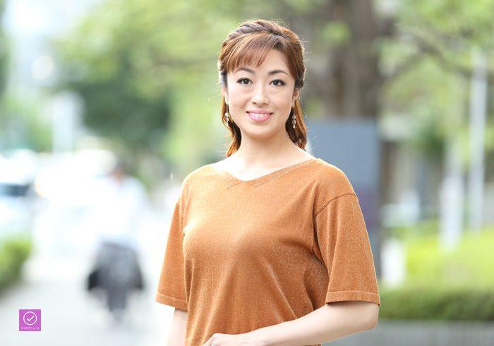 北翔海莉さん、アイデアニュース・プレゼント用写真=撮影・伊藤華織