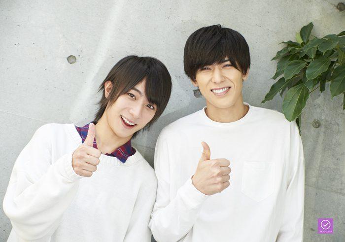 永田聖一朗さん(左)と加藤将さん(右)のアイデアニュース・プレゼント用写真=撮影・NORI