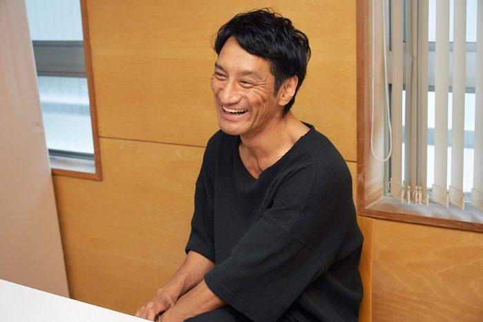 谷田歩さん=撮影・NORI