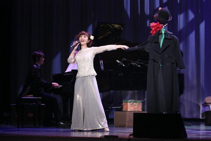 舞台『虹のかけら ~もうひとりのジュディ』より=撮影・宮川舞子