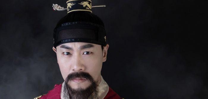 ミュージカル『1446』に出演する世宗役のパク・ユドクさん