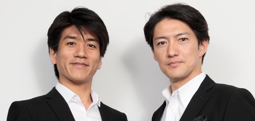 宮原浩暢さん(写真右)と佐賀龍彦さん(写真左)=撮影・山本尚侍